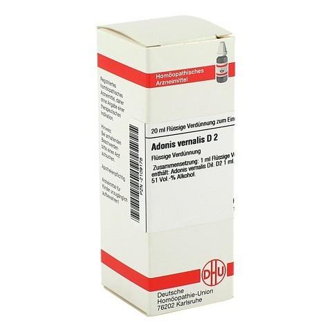 ADONIS VERNALIS D 2 Dilution 20 Milliliter N1