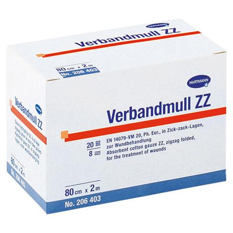 VERBANDMULL Hartmann 10 cmx2 m zickzack 1 Stück