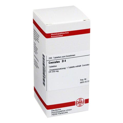 COCCULUS D 4 Tabletten 200 St�ck N2