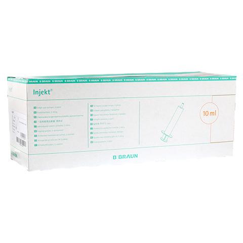 INJEKT Solo Spritze 10 ml Luer exzentrisch PVC-fr. 100x10 Milliliter