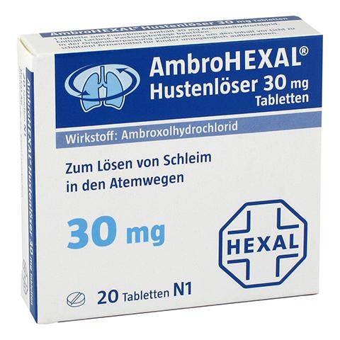 AmbroHEXAL Hustenlöser 30mg 20 Stück N1