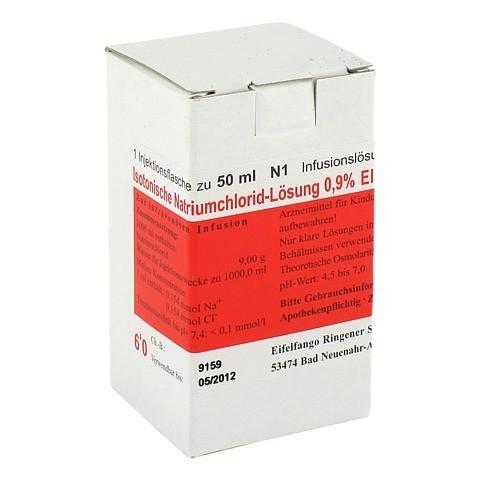 ISOTONISCHE NaCl Lösung 0,9% Eifelfango 50 Milliliter N1