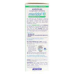 MERIDOL sicherer Atem Mundsp�lung 100 Milliliter - Linke Seite