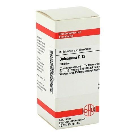 DULCAMARA D 12 Tabletten 80 St�ck N1
