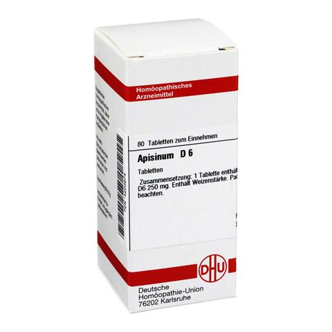 APISINUM D 6 Tabletten 80 Stück N1