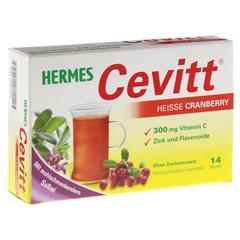 HERMES Cevitt heiße Cranberry Granulat 14 Stück