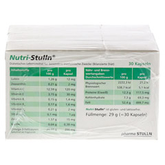NUTRI STULLN Kapseln 3x30 Stück - Rückseite