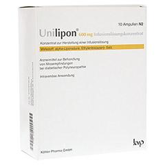 UNILIPON 600 Infusionslösungskonzentrat 1x10 Stück N2