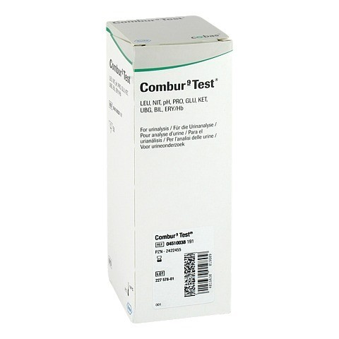 COMBUR 9 Test Teststreifen 1 Packung