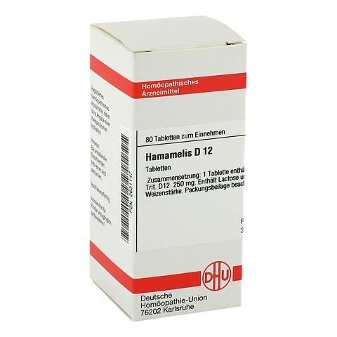 HAMAMELIS D 12 Tabletten 80 Stück N1