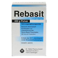 REBASIT Mineral Pulver 400 Gramm - Vorderseite