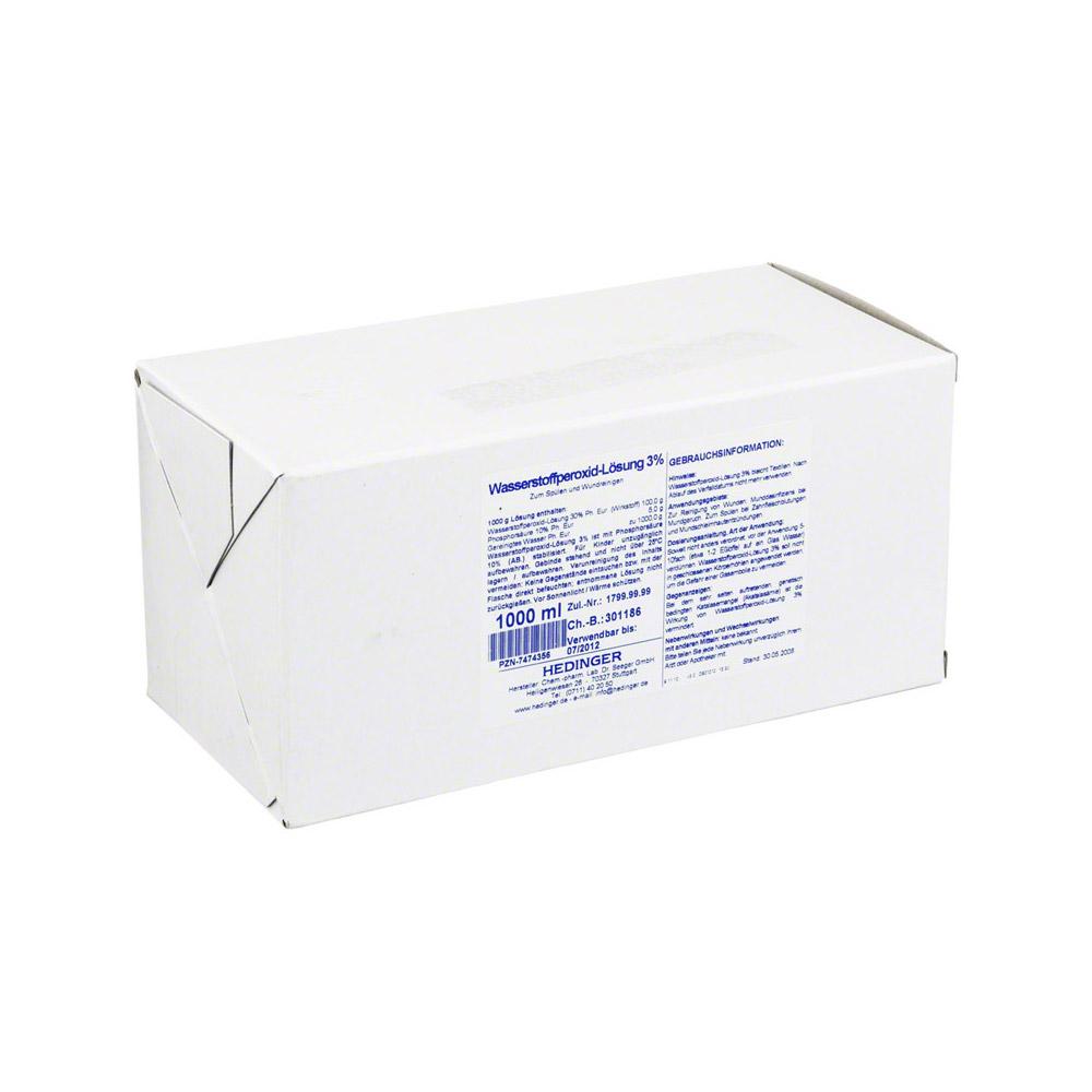 wasserstoffperoxid l sung 3 standardzulassung 1000 milliliter online bestellen medpex. Black Bedroom Furniture Sets. Home Design Ideas