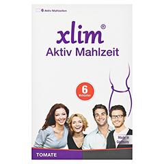 XLIM Aktiv Mahlzeit Tomate Pulver 6x57 Gramm - Vorderseite