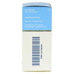 BIOCHEMIE DHU 21 Zincum chloratum D 12 Tabletten 80 Stück N1 - Linke Seite