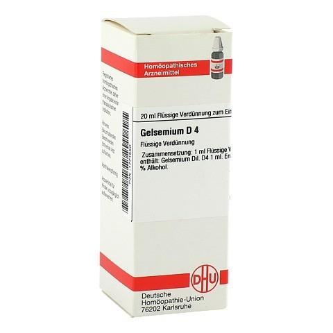 GELSEMIUM D 4 Dilution 20 Milliliter N1