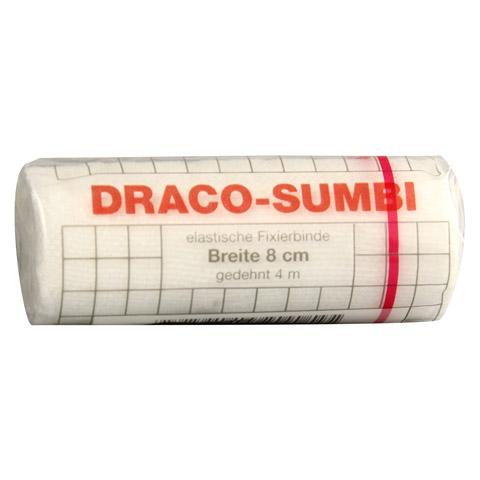 DRACOSUMBI Fixierbinde 8 cmx4 m weiß 1 Stück