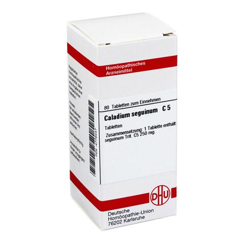 CALADIUM seguinum C 5 Tabletten 80 Stück N1