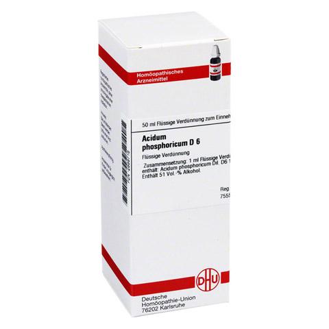 ACIDUM PHOSPHORICUM D 6 Dilution 50 Milliliter N1