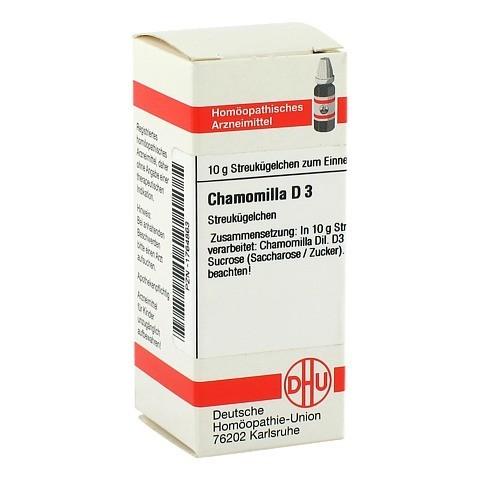 CHAMOMILLA D 3 Globuli 10 Gramm N1