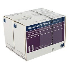 MAGNESIUM-CT 500 mg Filmtabletten