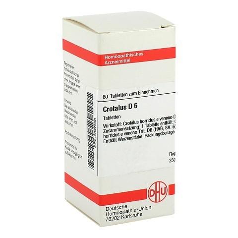 CROTALUS D 6 Tabletten 80 Stück N1