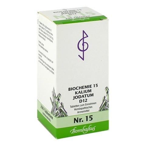 BIOCHEMIE 15 Kalium jodatum D 12 Tabletten 200 Stück N2