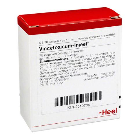 VINCETOXICUM INJEEL Ampullen 10 St�ck N1