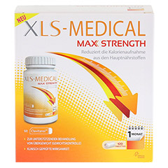 XLS Medical Max Strength Tabletten 120 Stück - Vorderseite