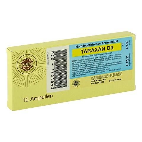 TARAXAN D 3 Injektion Ampullen 10x1 Milliliter N1