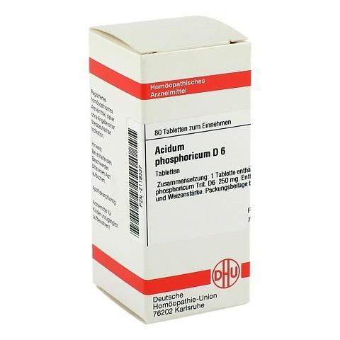 ACIDUM PHOSPHORICUM D 6 Tabletten 80 Stück N1