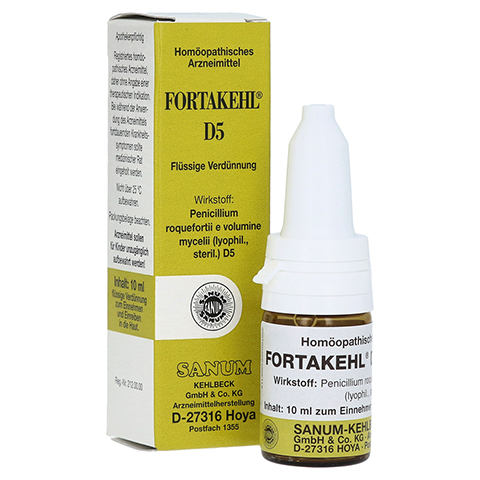 FORTAKEHL D 5 Tropfen 10 Milliliter N1