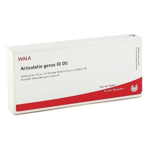 ARTICULATIO genus GL D 5 Ampullen 10x1 Milliliter N1