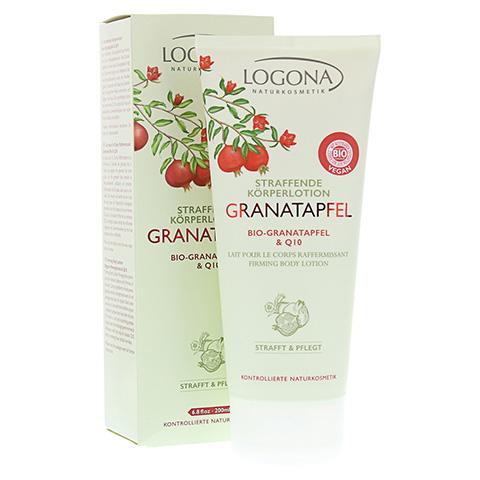 LOGONA straffende K�rperlotion Granatapfel & Q10 200 Milliliter