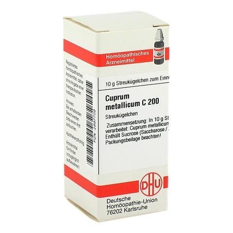 CUPRUM METALLICUM C 200 Globuli 10 Gramm N1