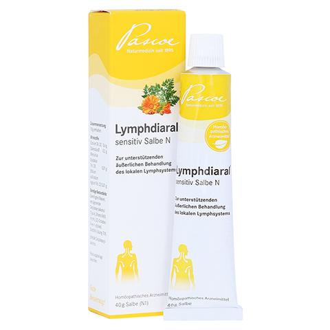 LYMPHDIARAL SENSITIV Salbe N 40 Gramm N1