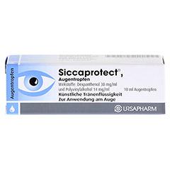 SICCAPROTECT Augentropfen 10 Milliliter - Vorderseite