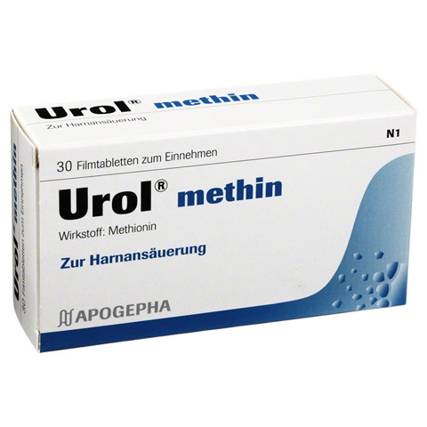 UROL METHIN Filmtabletten 30 St�ck N1