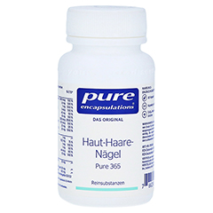 PURE ENCAPSULATIONS Haut-Haare-Nägel Pure 365 Kps. 60 Stück