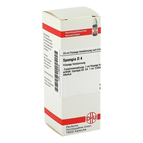 SPONGIA D 4 Dilution 20 Milliliter N1