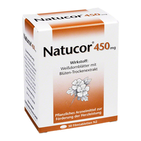 Natucor 450mg 50 St�ck N2