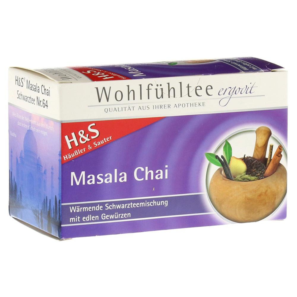 H&S Masala Chai Filterbeutel 20 Stück