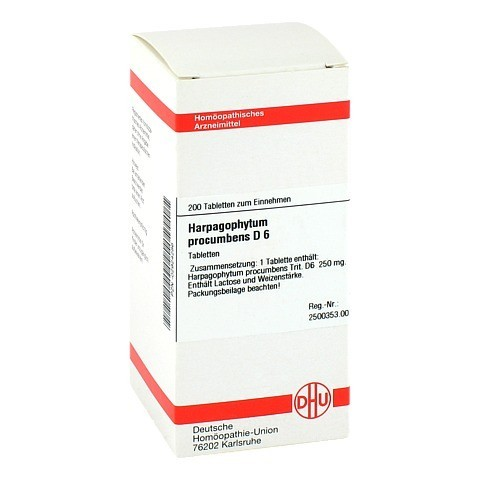 HARPAGOPHYTUM PROCUMBENS D 6 Tabletten 200 St�ck N2