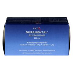 DURAMENTAL Glutathion 300 mg magensaftr.Tabletten 60 Stück - Unterseite