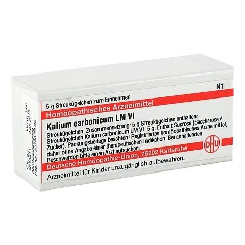 LM KALIUM carbonicum VI Globuli 5 Gramm N1