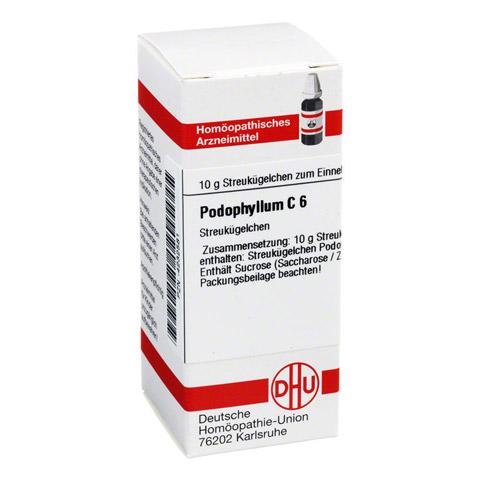 PODOPHYLLUM C 6 Globuli 10 Gramm N1