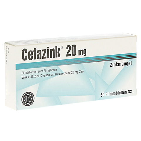 Cefazink 20mg 60 St�ck N2