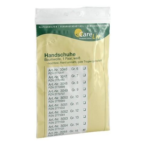 HANDSCHUHE Baumwolle Gr.15 2 Stück