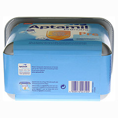 APTAMIL Pronutra Pre Anfangsmilch SAFEBOX Pulver 800 Gramm - Unterseite