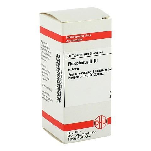 PHOSPHORUS D 10 Tabletten 80 St�ck N1