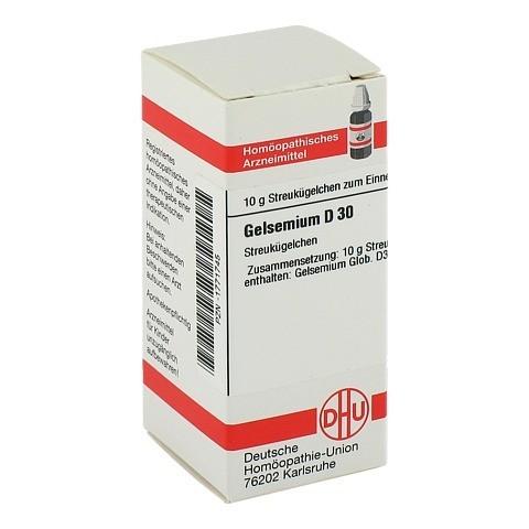 GELSEMIUM D 30 Globuli 10 Gramm N1